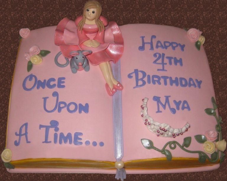 Ricette torte a forma di libro delle principesse