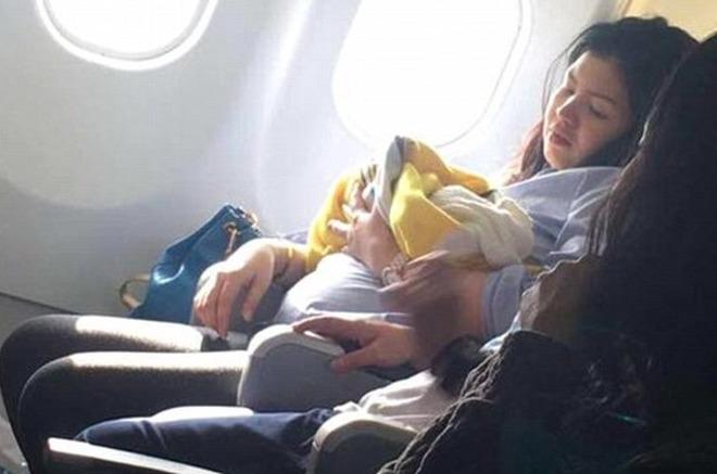 Una donna partorisce in aereo a 3000 miglia di altitudine