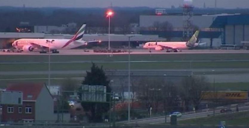 Allamrme bomba, stampa belga: i due aerei atterrati in sicurezza