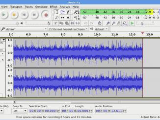 Come esportare file mp3 con audacity