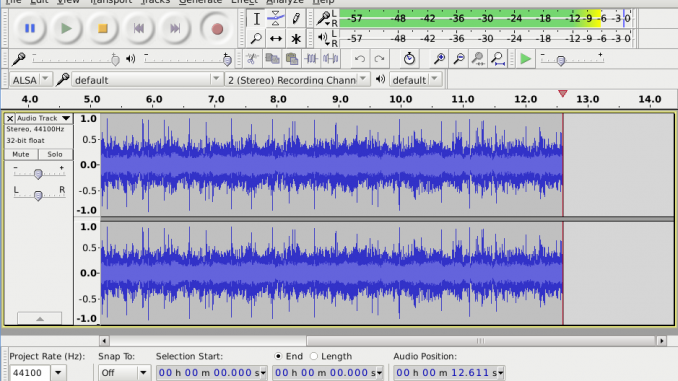 Come esportare file mp3 con audacity