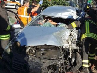 incidente vicino roma