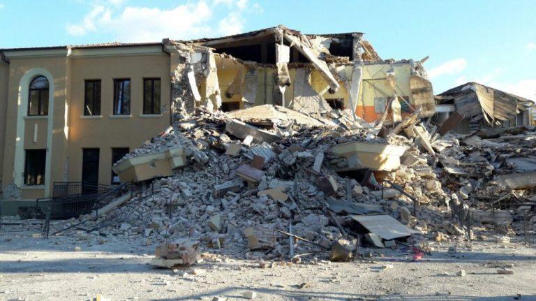 terremoto centro italia amatrice scuola