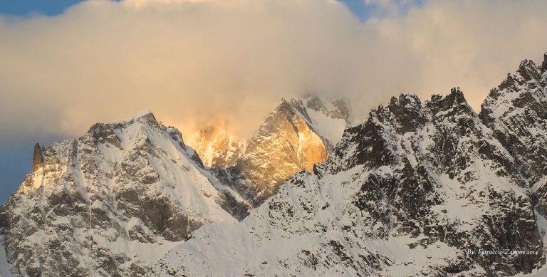 tre alpinisti morti sul monte bianco