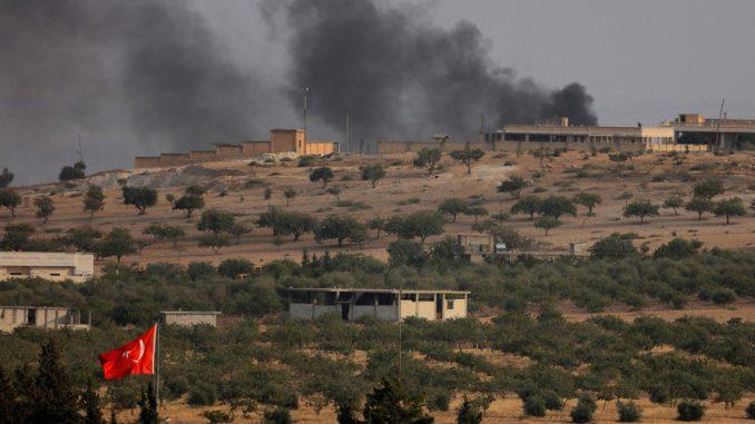Siria: media, colpiti 81 obiettivi Isis in missione Jarablus