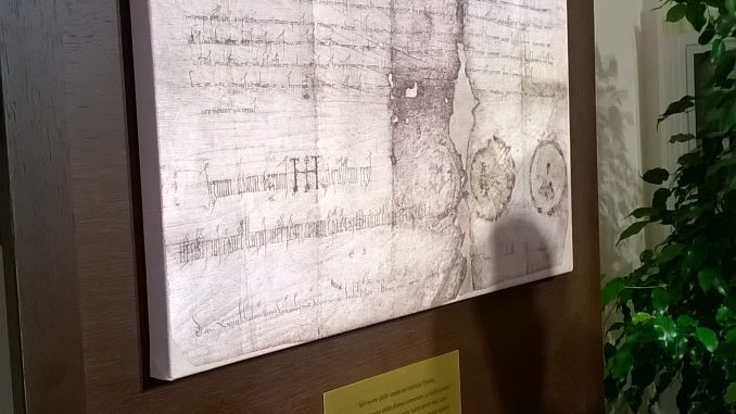 Inaugurazione della mostra Mestre in un documento dell'imperatore