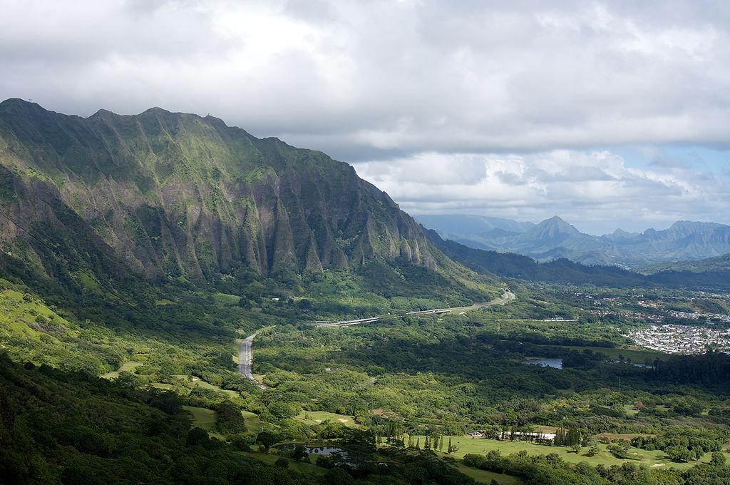 Le foreste di Oahu sono sterminate, e basta un po' di attenzione nel piazzare le telecamere per farla sembrare completamente disabitata.