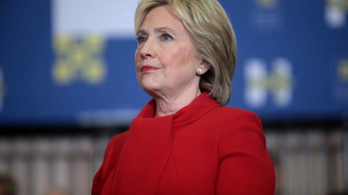 Hillary Clinton: annullati due giorni di campagna presidenziale