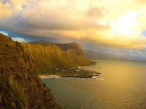 Panorami mozzafiato sono tipici dell'isola.