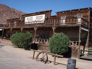 Il saloon principale della città.