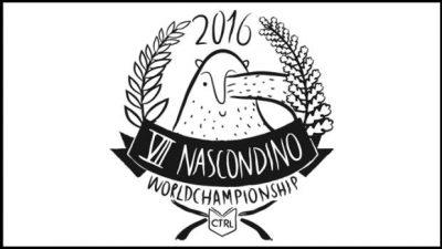 Il logo della settima edizione del Nascondino World Champioship.
