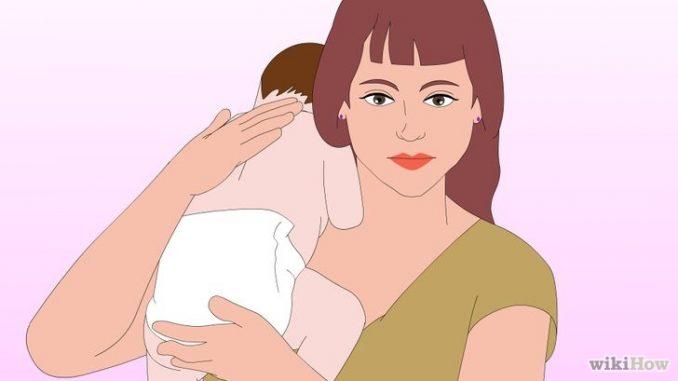 Come stimolare il neonato a fare il ruttino