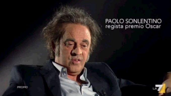 Maurizio Crozza è Paolo Sonlentino, parodia da Oscar del regista