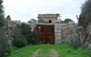 Il portone centrale della fortezza.