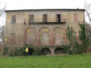 Esterno della Villa stregata di Cona