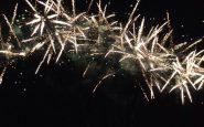 Fuochi d'artificio senza autorizzazione
