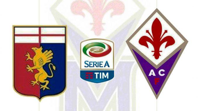 Genoa-Fiorentina Streaming Serie A 11 settembre 2016