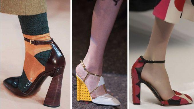 Moda: tutte pazze per i tacchi quadrati