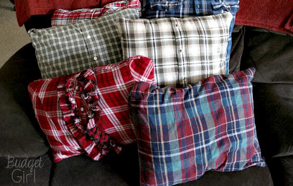 Vecchie felpe e caldi cuscini