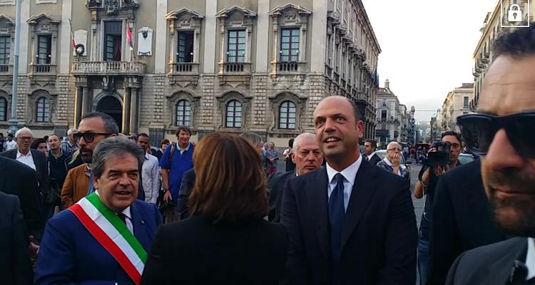 ministro alfano-catania-