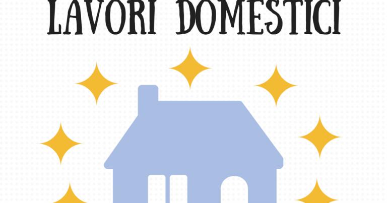 Come fare le pulizie domestiche for Planning faccende domestiche