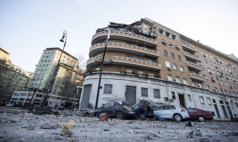 crollo-palazzina Roma