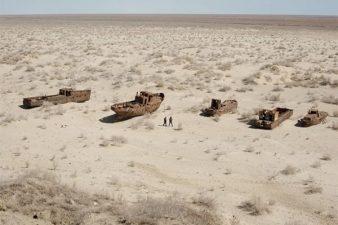 stato di abbadono del algo d'Aral