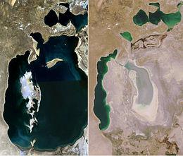 lago d'Aral progressione