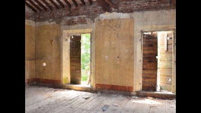 Interno della Villa stregata di Cona