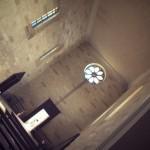Interno della chiesa del borgo
