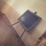 Interno della scuola di Monteruga