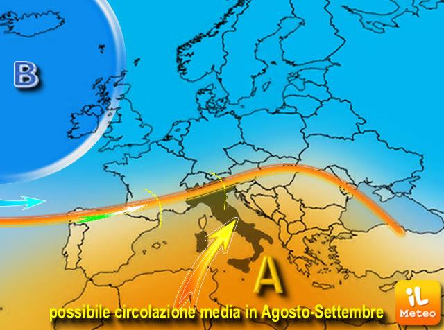 Previsioni meteo martedì 13 settembre (2016)