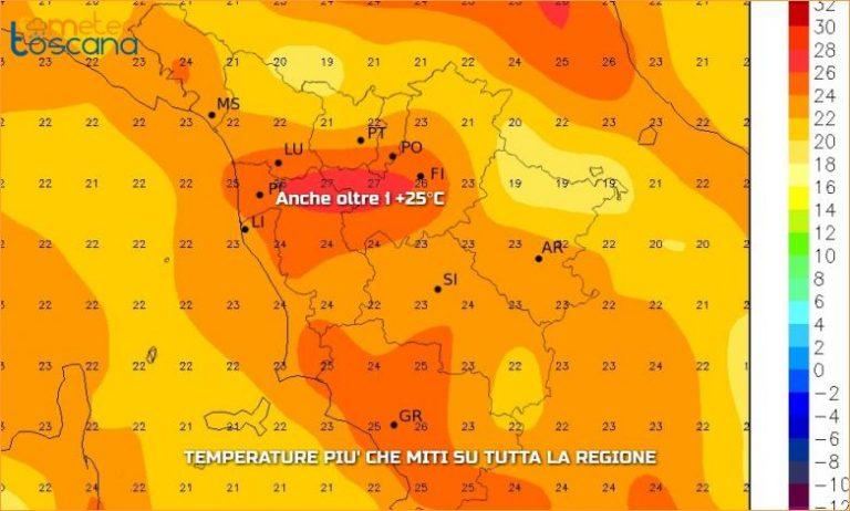 Previsioni meteo mercoledì 28 settembre (2016)