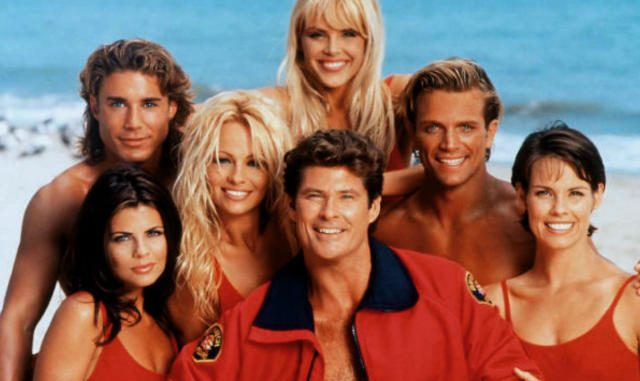 "IL CAST DI ""BAYWATCH""."
