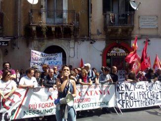 Renzi a Catania