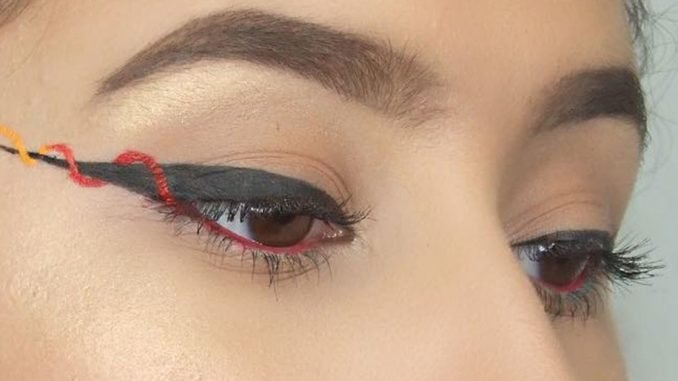 Eye-liner ribbon, il nuovo make-up per occhi intensi e colorati