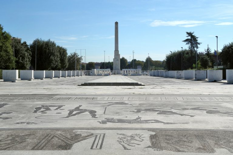 roma obelisco foro italico mussolini