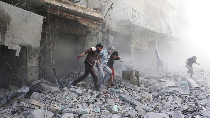 Siria: caso di soffocamento da cloro ad Aleppo, un nuovo bombardamento sospetto.