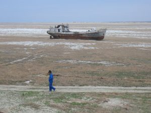 stato attuale del lago d'Aral