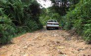 Strada per Bokor