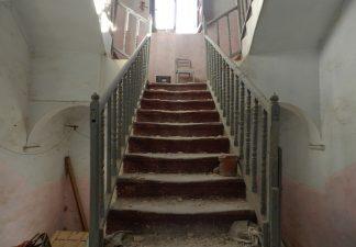 Villa Eleonora, scalinate