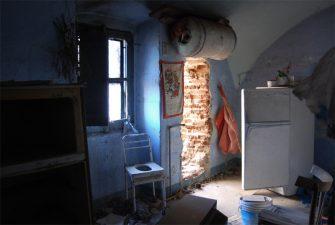 Villa Eleonora, frigoriferi abbandonati