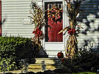 6 idee autunnali per ravvivare la porta di casa