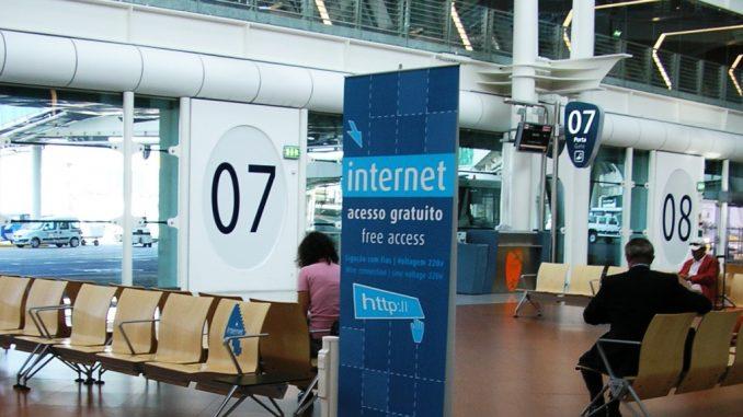 Wifi negli aeroporti