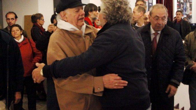 Beppe Grillo piange Dario Fo: