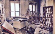 Ospedale Maria Adelaide - ciò che rimane del Centro di rieducazione funzionale a Torino