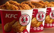 I ristoranti KFC selezionano 120 risorse da assumere in Italia