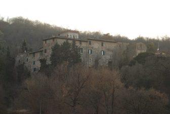 Castello dei fantasmi in Umbria