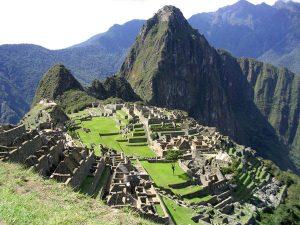 Machu Pichu in Perù