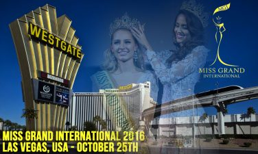 Pubblicità di Miss Grand International 2016
